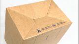Label-Karton: Automatikboden geschlossen