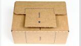 Label-Karton: Deckelklappe