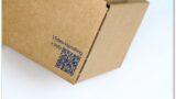 Label-Karton: QR-Code
